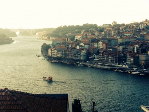 Porto. Can just see Lorema near the centre of the photo.