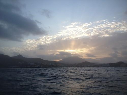 Early dawn per Mindelo.