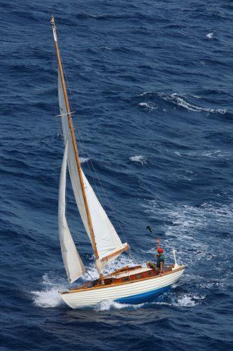 Folkboat Lorema for Sale - Sampson Boat Co.